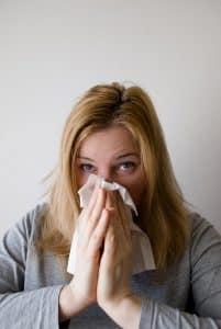 Les éternuements peuvent être un signe d'Allergie Animaux
